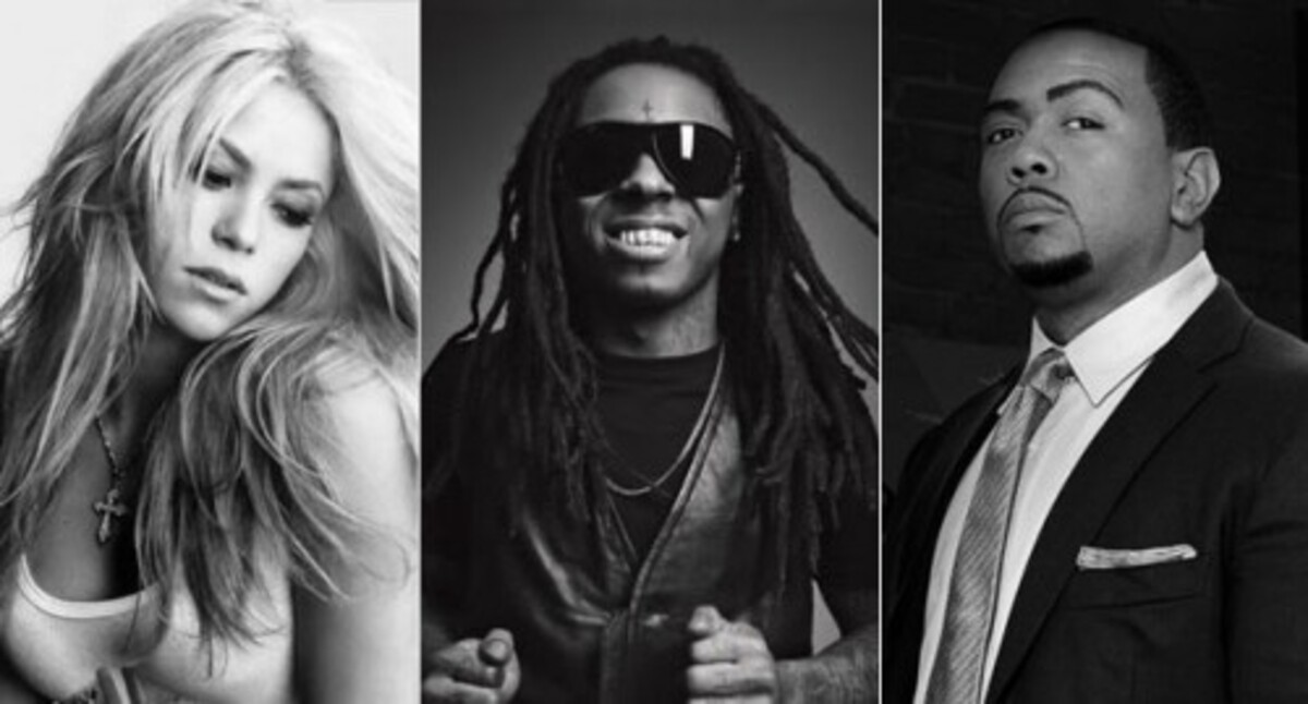Новая песня от Шакиры, Lil Wayne и Тимбаленда