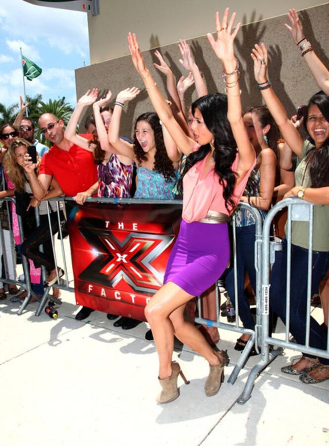 Николь Шерзингер приступила к съемкам телешоу X-Factor