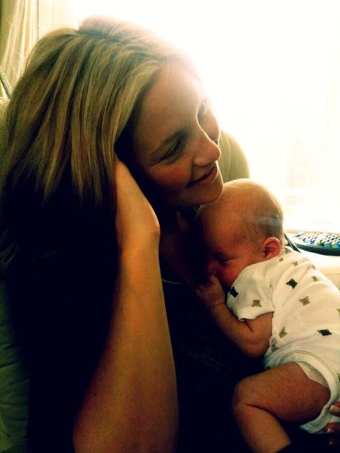 Кейт Хадсон с сыном Бингэмом
