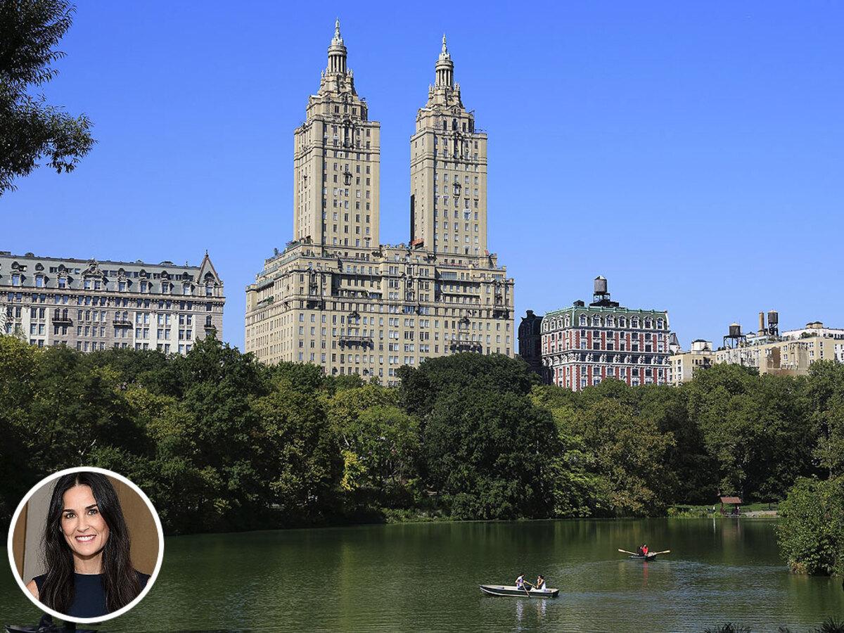 Деми Мур продает квартиру в Нью-Йорке за 75 млн долларов