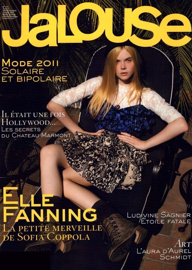 Эль Фаннинг в журнале Jalouse