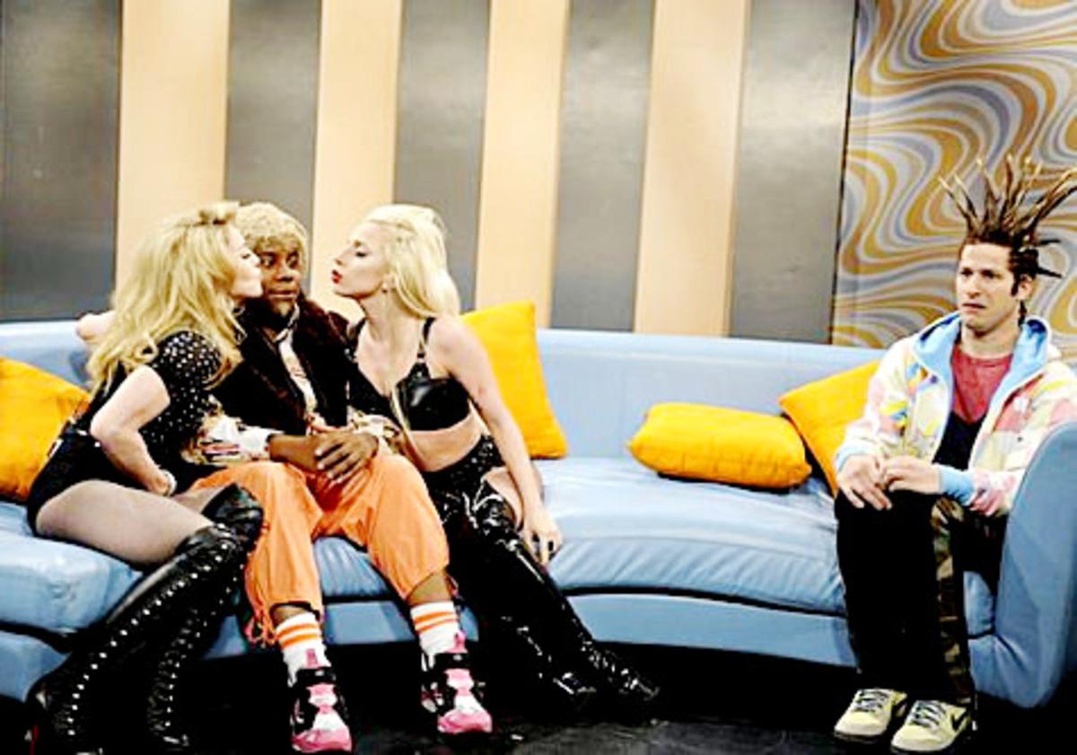 Мадонна и Lady Gaga дерутся на шоу Saturday Night Live