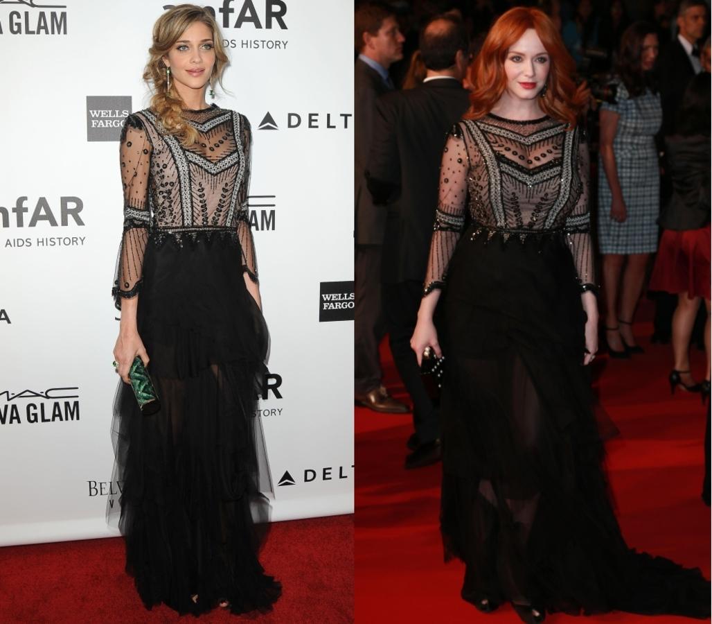 Fashion battle: Ана Беатрис Баррос и Кристина Хендрикс