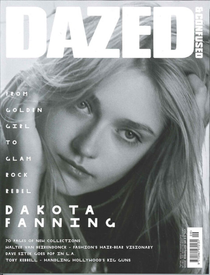 Дакота Фаннинг в журнале Dazed and Confused. Сентябрь 2010