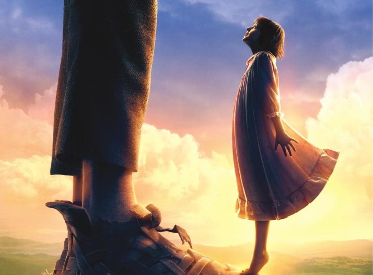 В сети появился новый дублированный трейлер фильма «Большой и добрый великан»