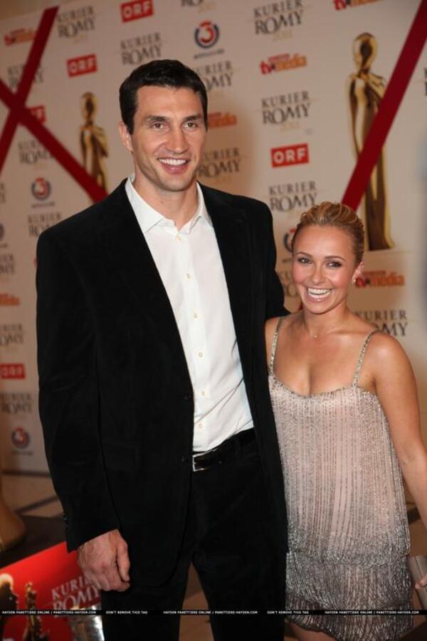 Хейден Панеттьер на церемонии Romy Awards