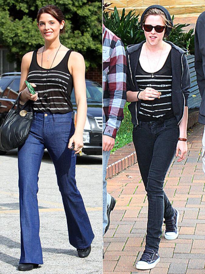Fashion battle: Эшли Грин и Кристен Стюарт