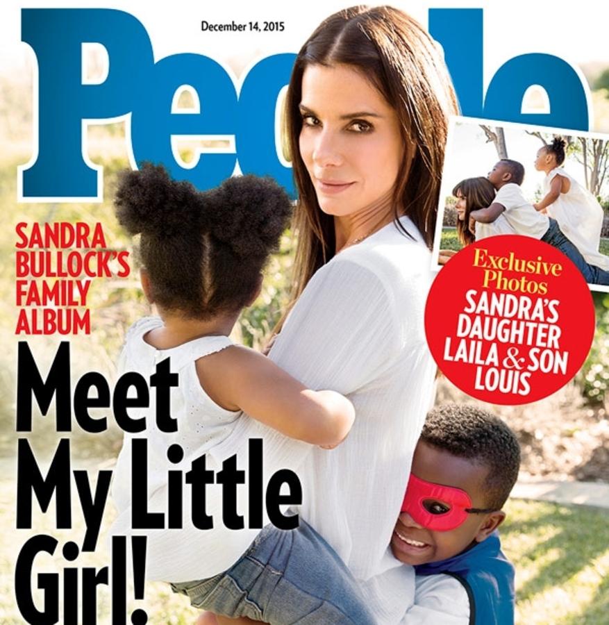 Сандра Буллок удочерила 3-летнюю девочку