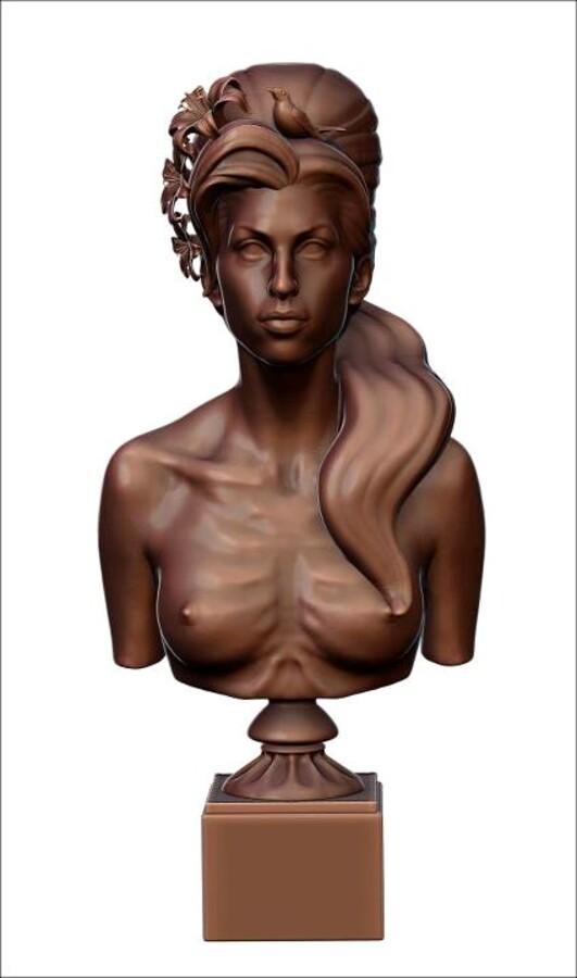 Эми Вайнхаус запечатлели в бронзе