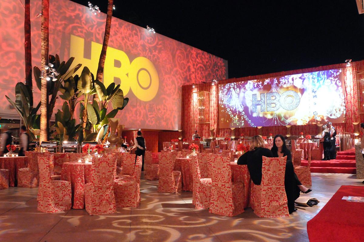Звезды на after party Золотого Глобуса канала HBO