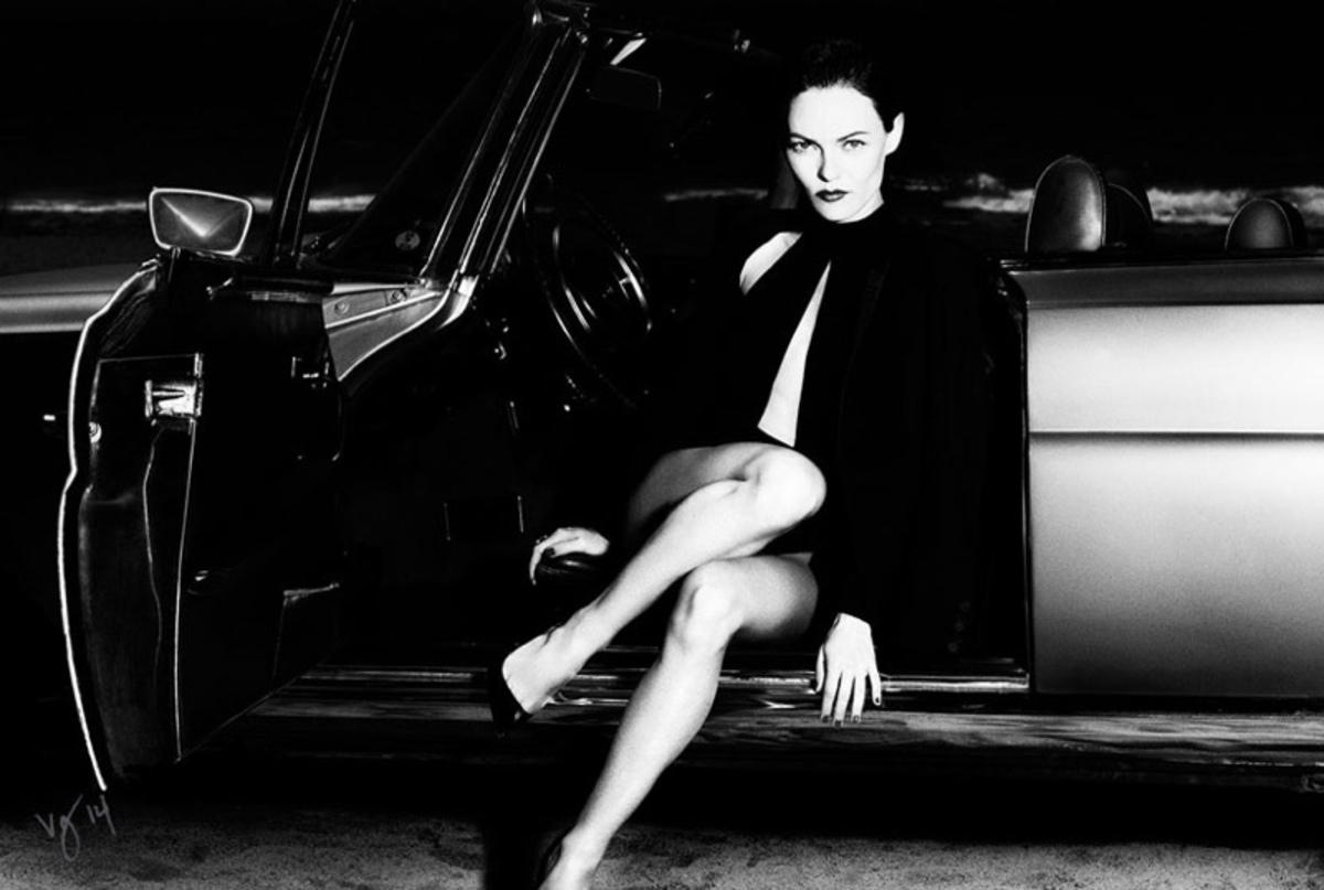 Ванесса Паради в журнале Violet Grey