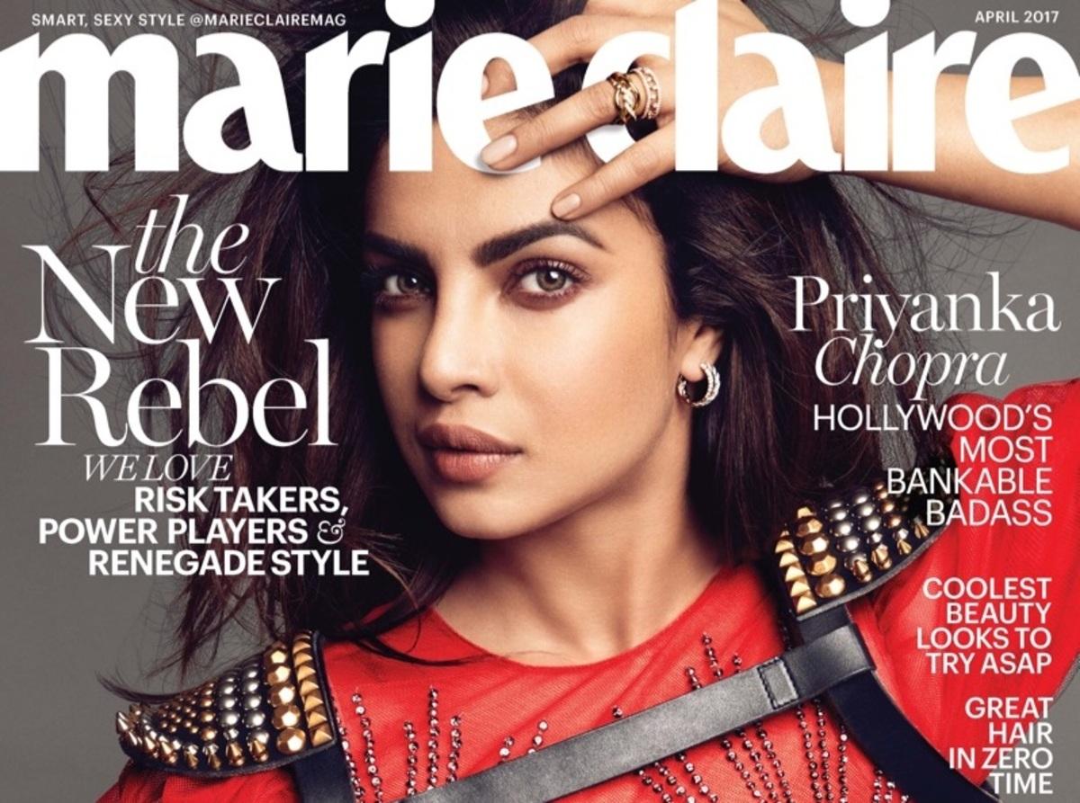 Приянка Чопра в фотосессии для Marie Claire, апрель 2017