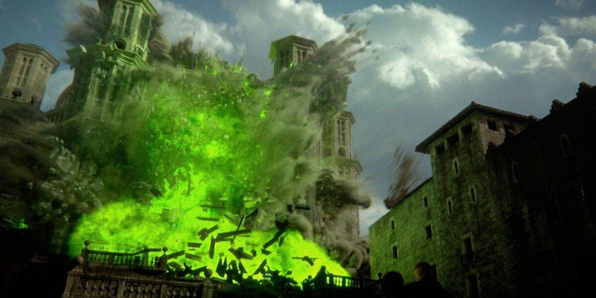 Видео: как выглядел финал 6 сезона «Игры престолов» без спецэффектов