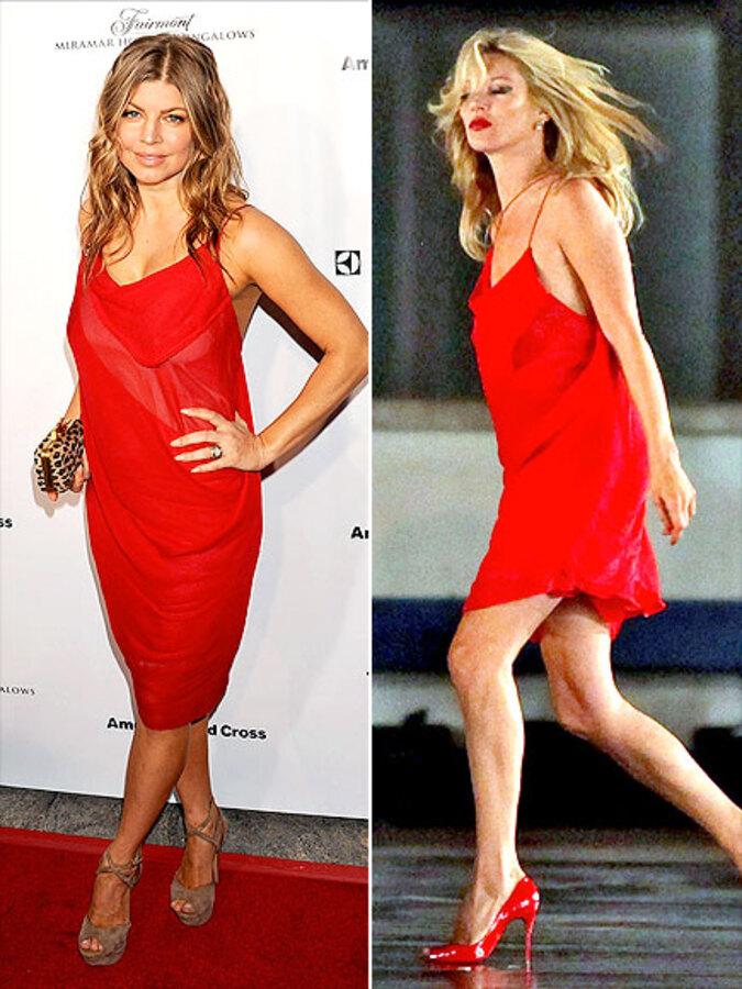 Fashion Battle: Ферги и Кейт Мосс