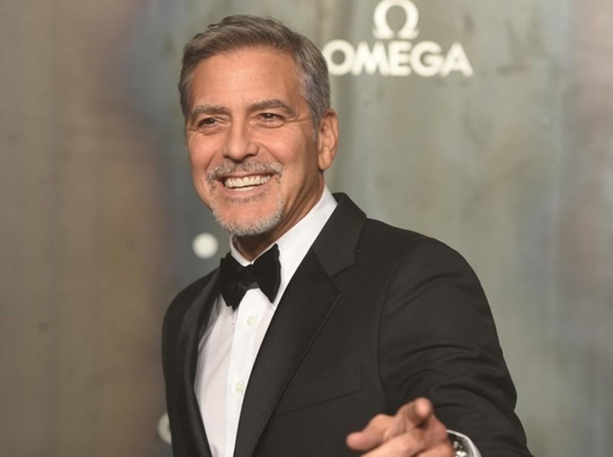 Джордж Клуни, Лив Тайлер и другие звезды на приеме часового бренда Omega в Лондоне