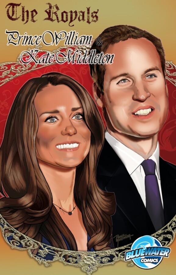 Принц Уильям и Кейт Миддлтон стали героями комикса