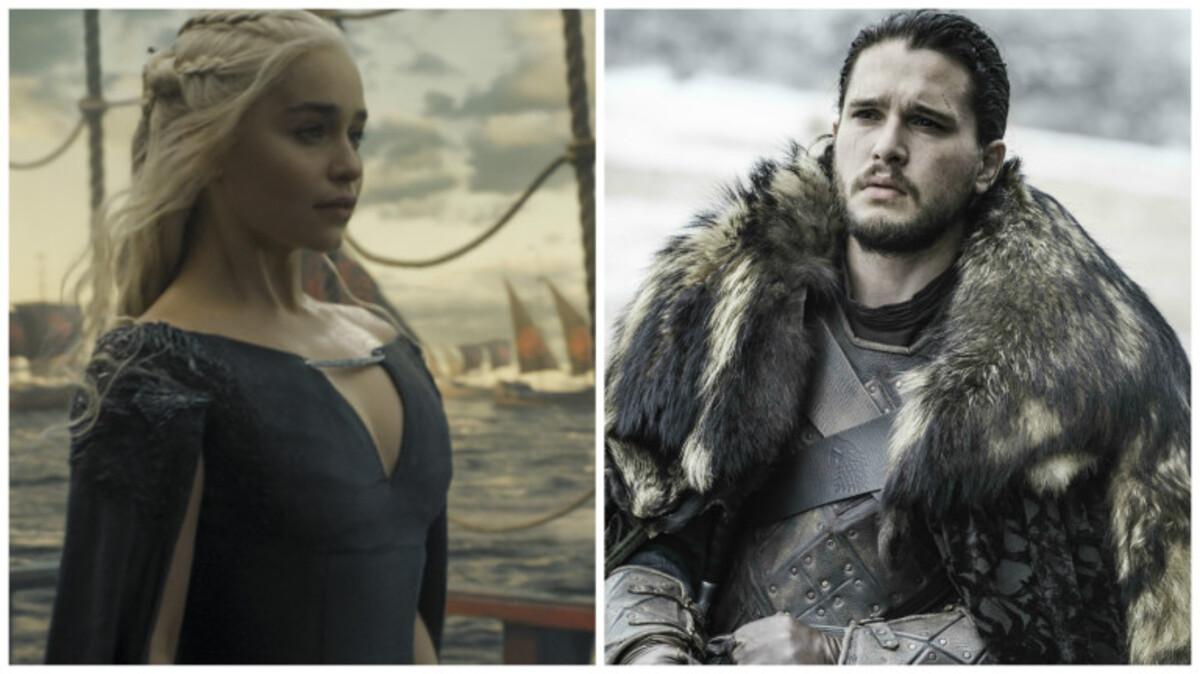 Джон Сноу и Дейенерис Таргариен объединятся в 7 сезоне «Игры престолов»