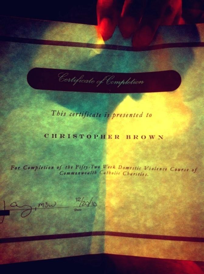 Крис Браун теперь не будет избивать людей