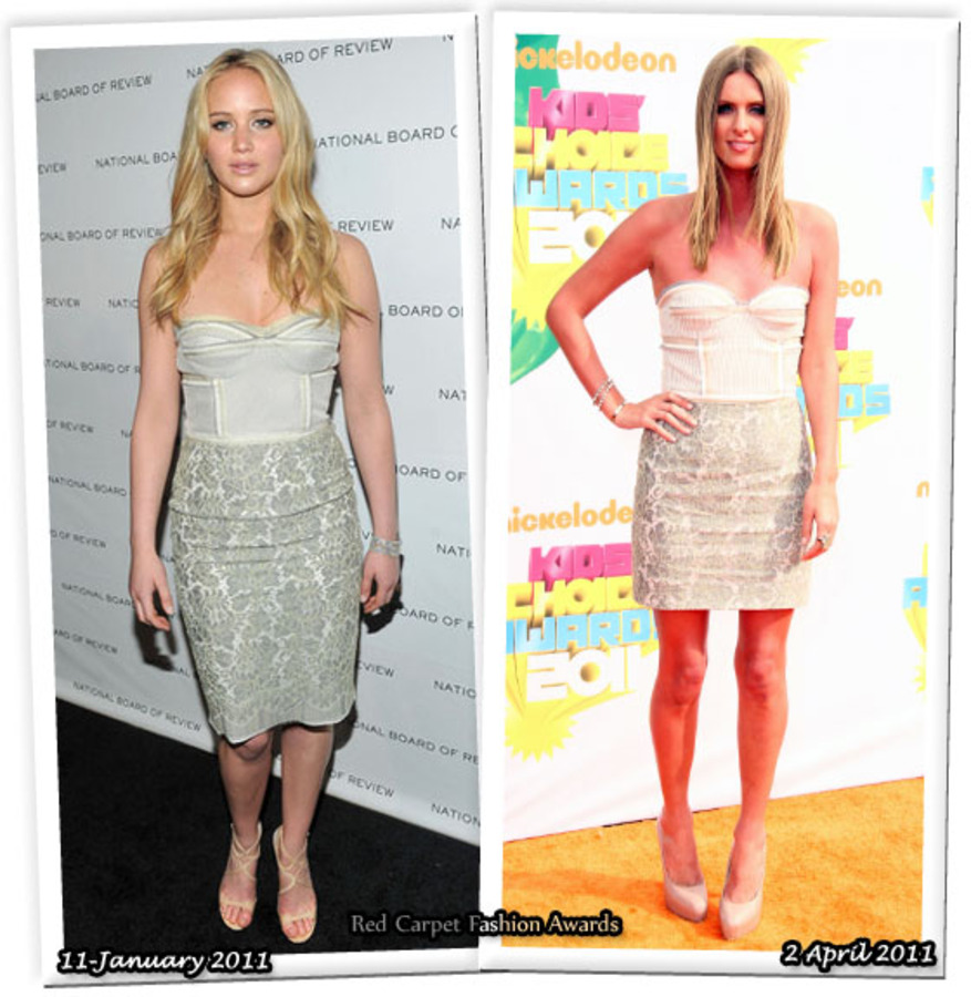 Fashion Battle: Дженнифер Лоуренс и Ники Хилтон