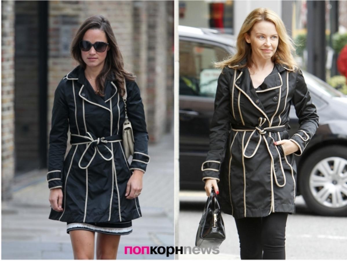 Fashion Battle: Пиппа Миддлтон и Кайли Миноуг