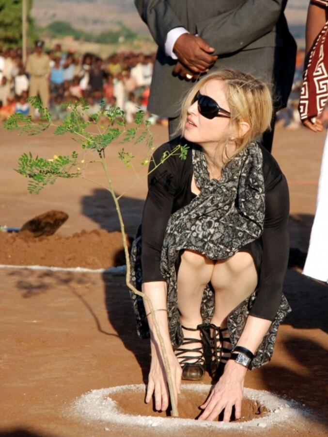 Мадонна приехала в Малави