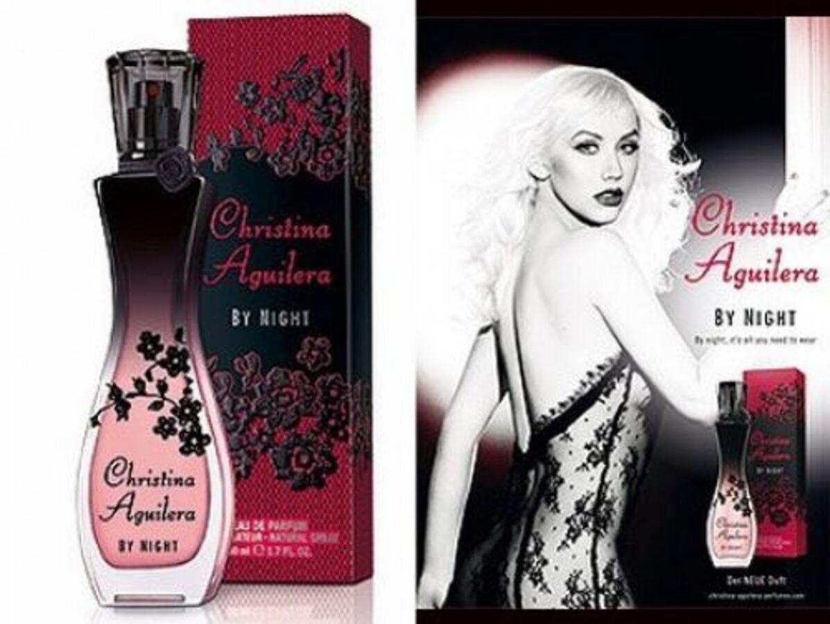 Кристина Агилера в рекламе Christina Aguilera By Night,