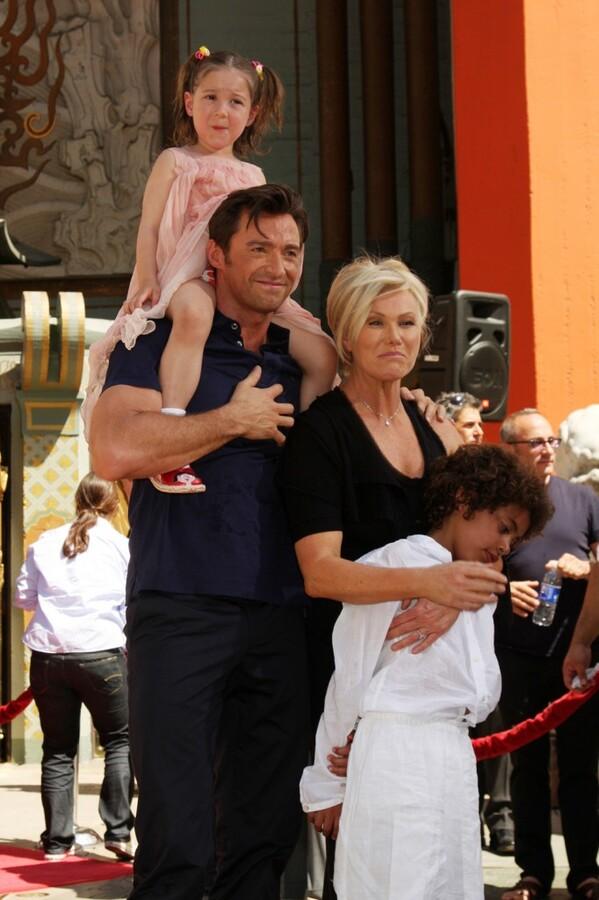 Хью Джекман поддерживает Мадонну