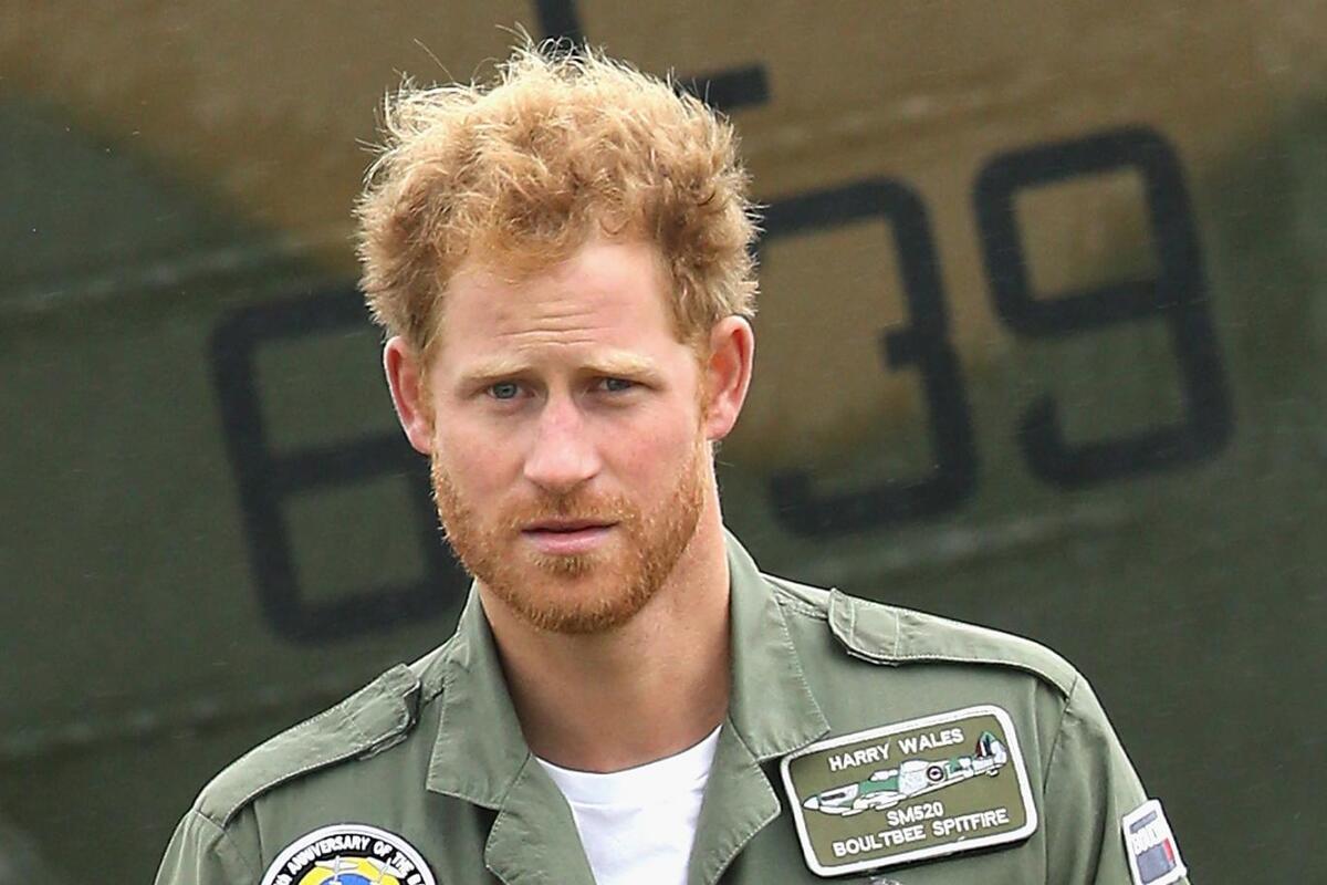 Принца Гарри признали обладателем самой сексуальной в мире бороды