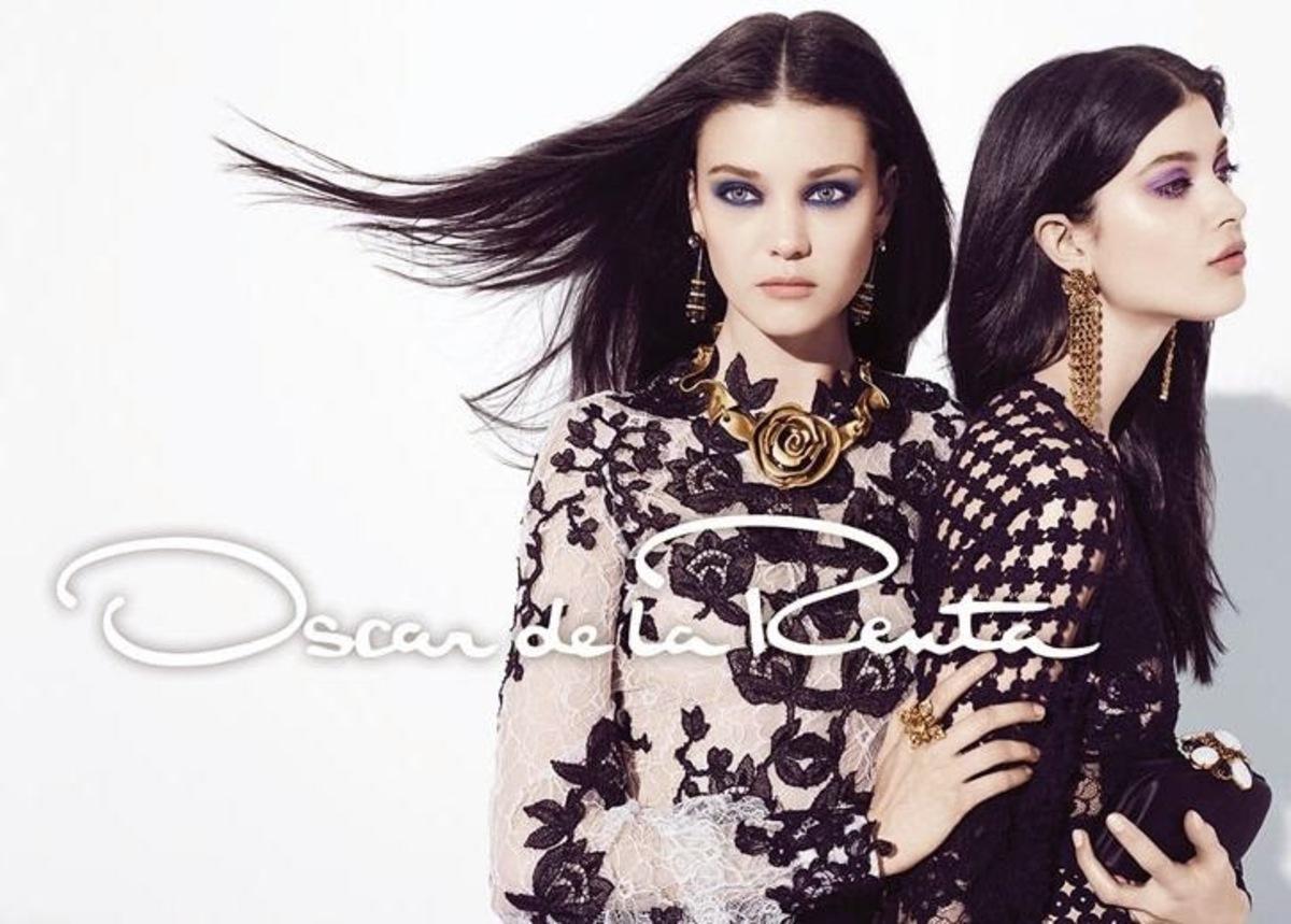 Рекламная кампания Oscar de la Renta. Осень / зима 2014-2015
