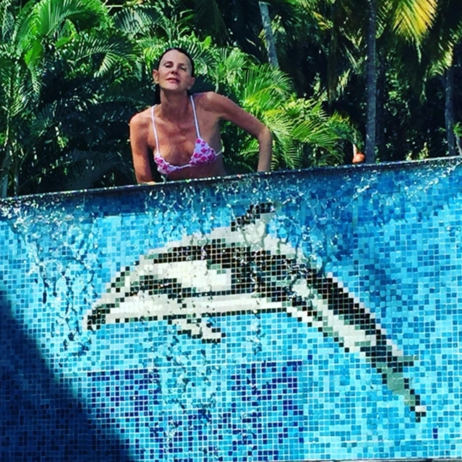53-летняя Анна Делло Руссо показала идеальную фигуру