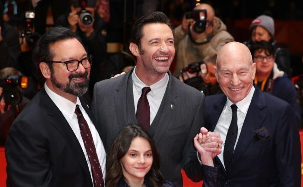 """Фото: Хью Джекман и Патрик Стюарт представили """"Логана"""" на Берлинском кинофестивале"""
