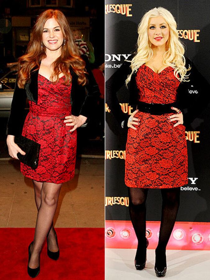 Fashion Battle: Айла Фишер и Кристина Агилера