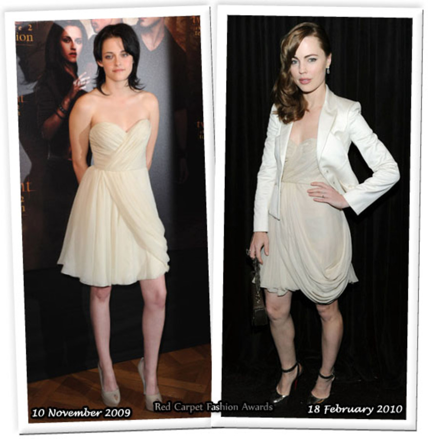 Fashion battle: Кристен Стюарт и Мелисса Джордж