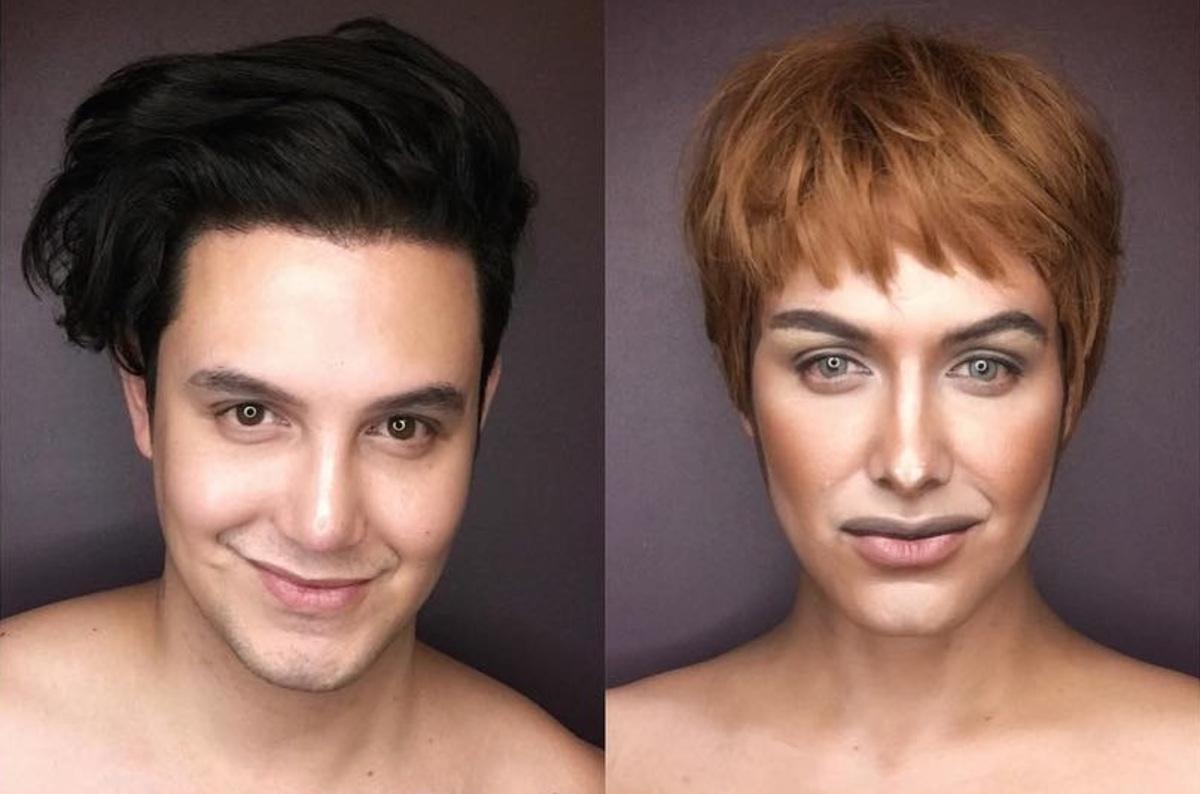 Фото: филиппинский актер с помощью париков и макияжа перевоплотился в героев «Игры престолов»