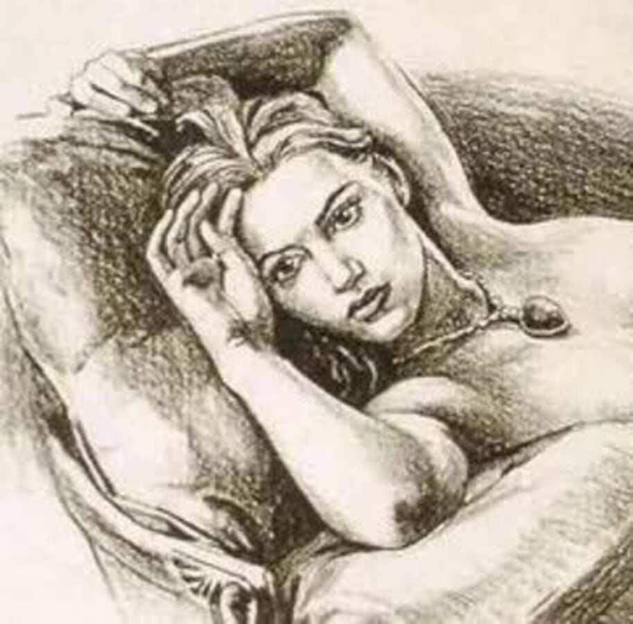 Рисунок Кейт Уинслет из фильма «Титаник» был продан на аукционе