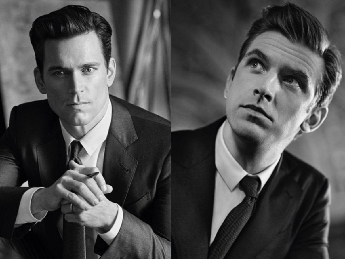 Мэтт Бомер и Дэн Стивенс снялись в рекламной кампании Giorgio Armani
