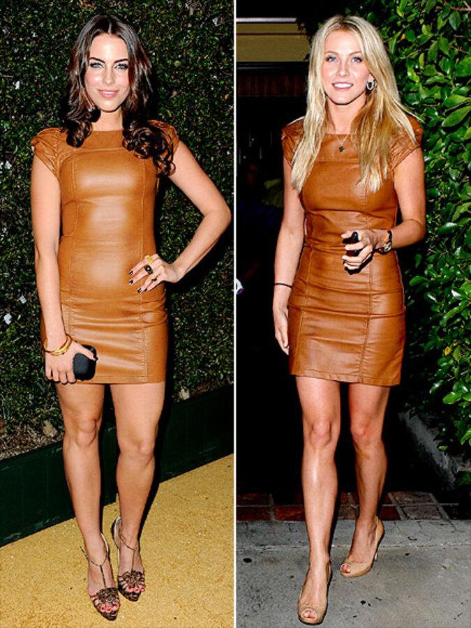 Fashion Battle: Джессика Лаундес и Джулианна Хаф