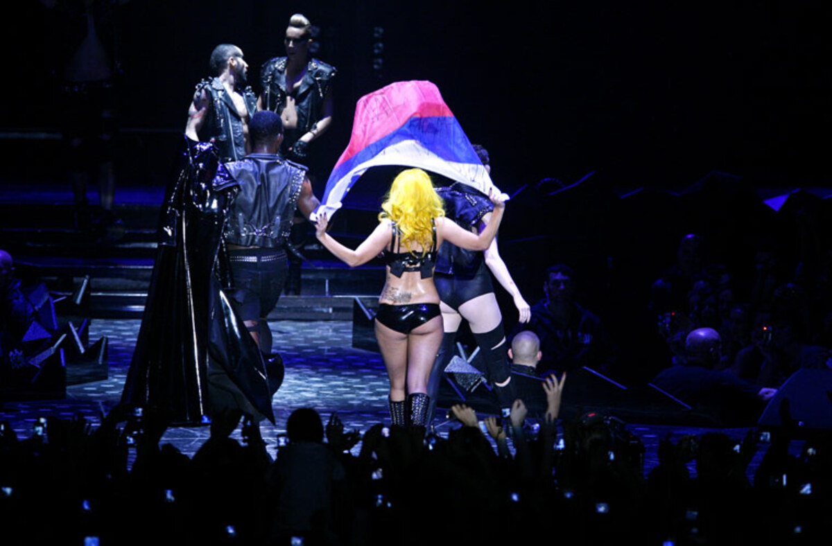 Lady Gaga - необразованная личность