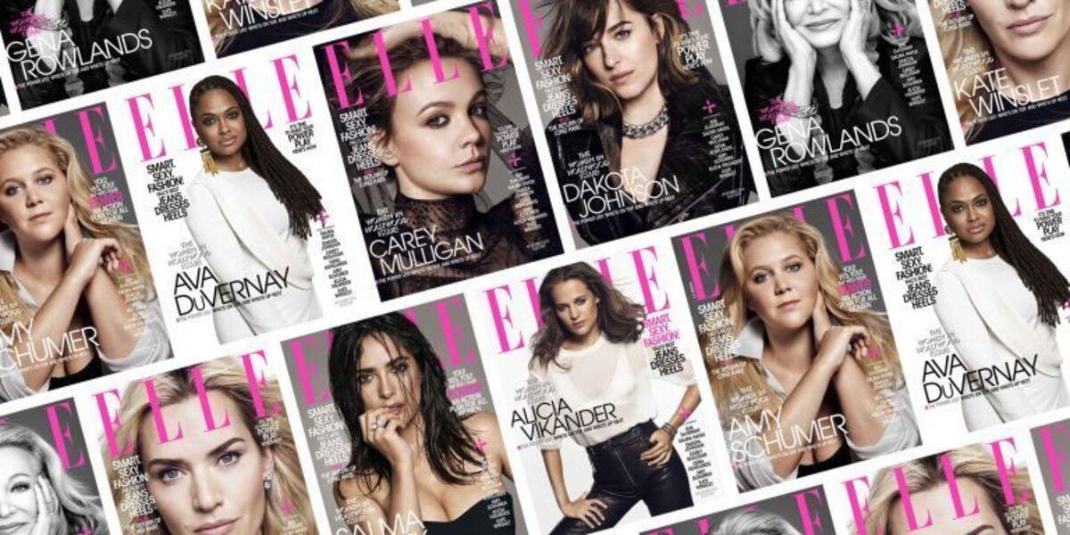 Дакота Джонсон, Кейт Уинслет, Эми Шумер и другие в специальном выпуске журнала Elle