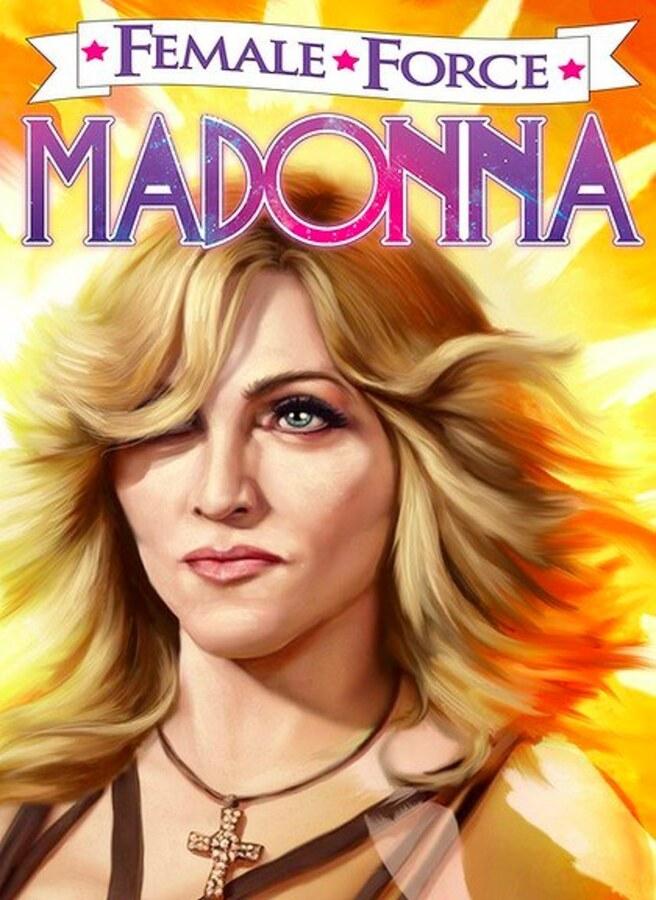 Мадонна стала героиней комикса