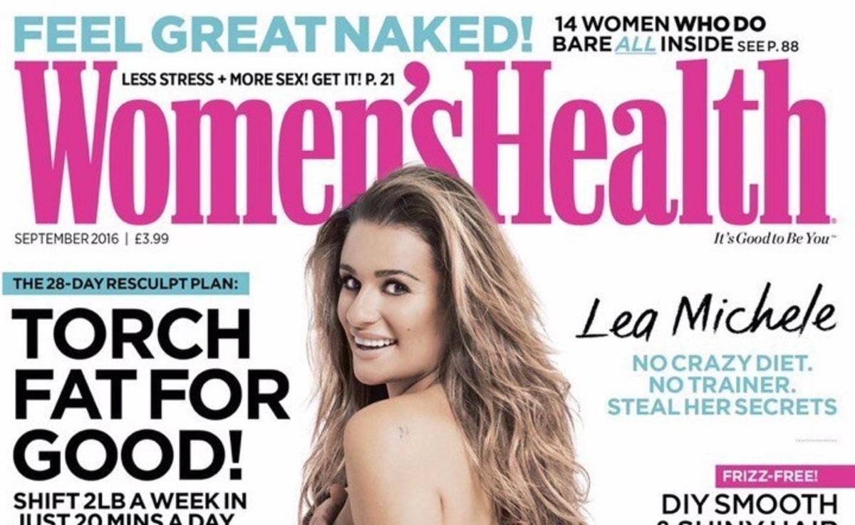 Лиа Мишель снялась обнаженной в фотосессии для Women's Health
