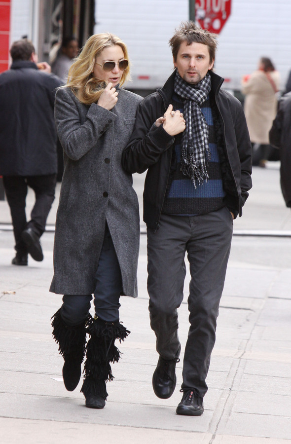 Кейт Хадсон и Мэттью Бэллами гуляют по Нью-Йорку