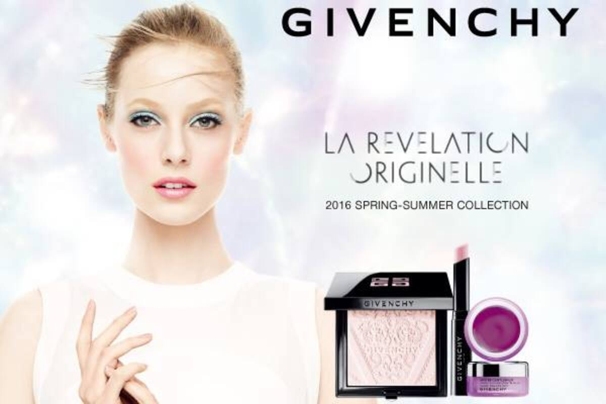 Givenchy представили новую коллекцию декоративной косметики. Весна / лето 2016