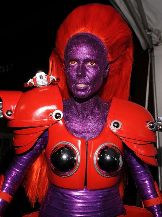 Хэллоуин-вечеринка Хайди Клум