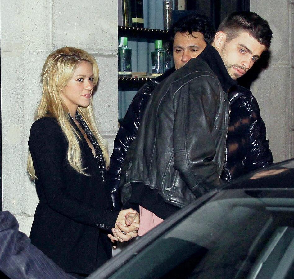 Шакира переехала к Жерару Пике