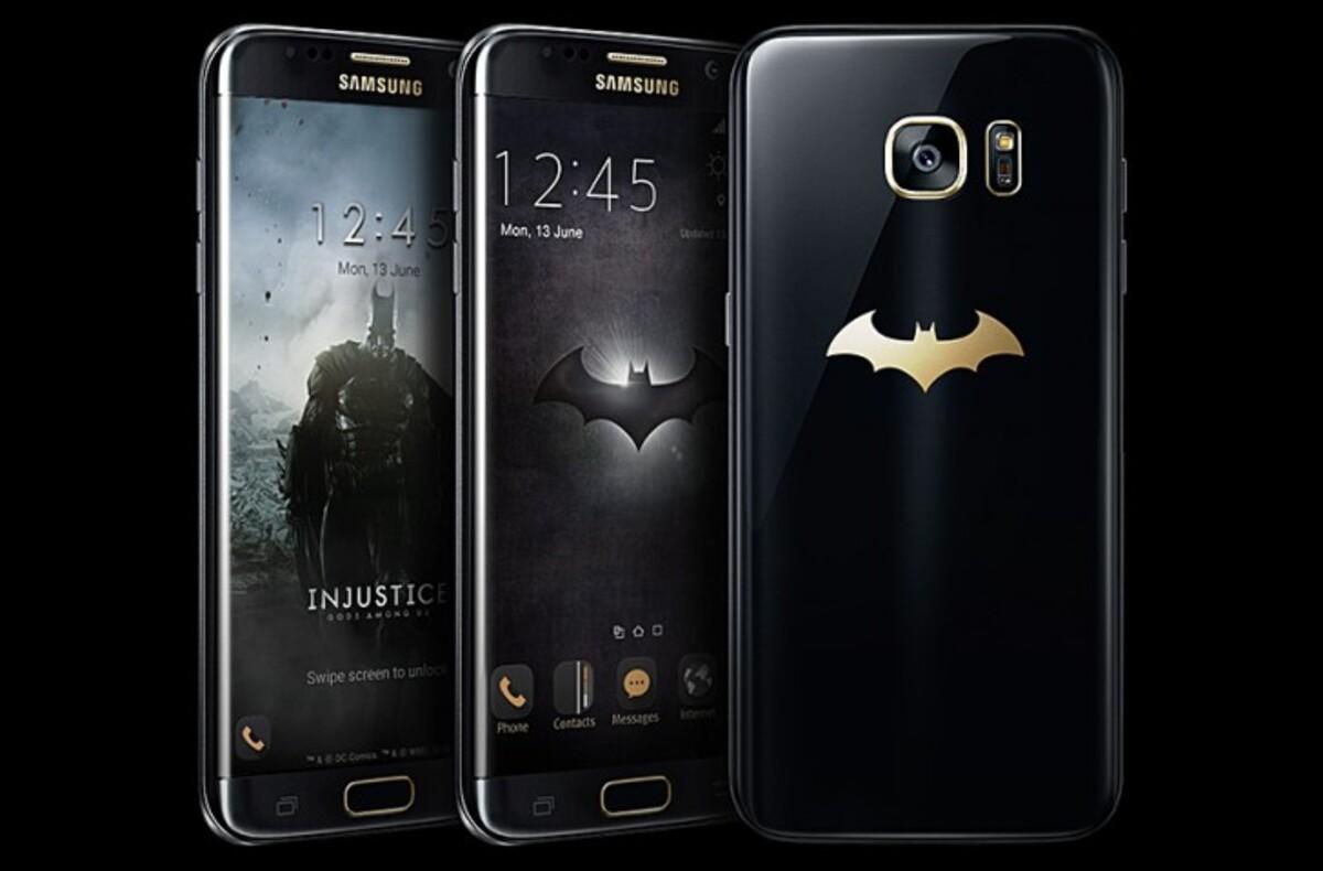 Samsung представил «Бэтмен»-версию телефона Galaxy S7 edge