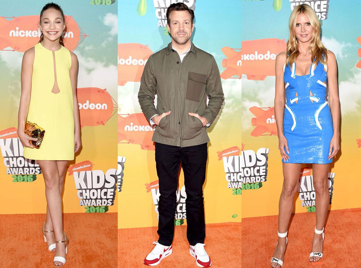 Фото: звезды на церемонии Kids' Choice Awards 2016