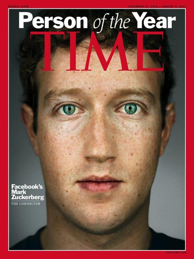 Марк Цукерберг - Человек года по версии журнала Time