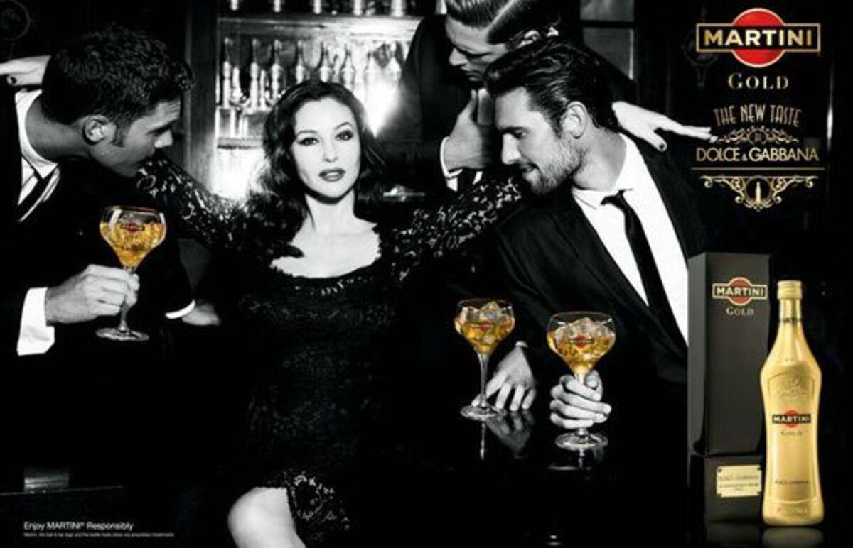 Видео: реклама Martini Gold от Dolce&Gabbana с Моникой Беллуччи