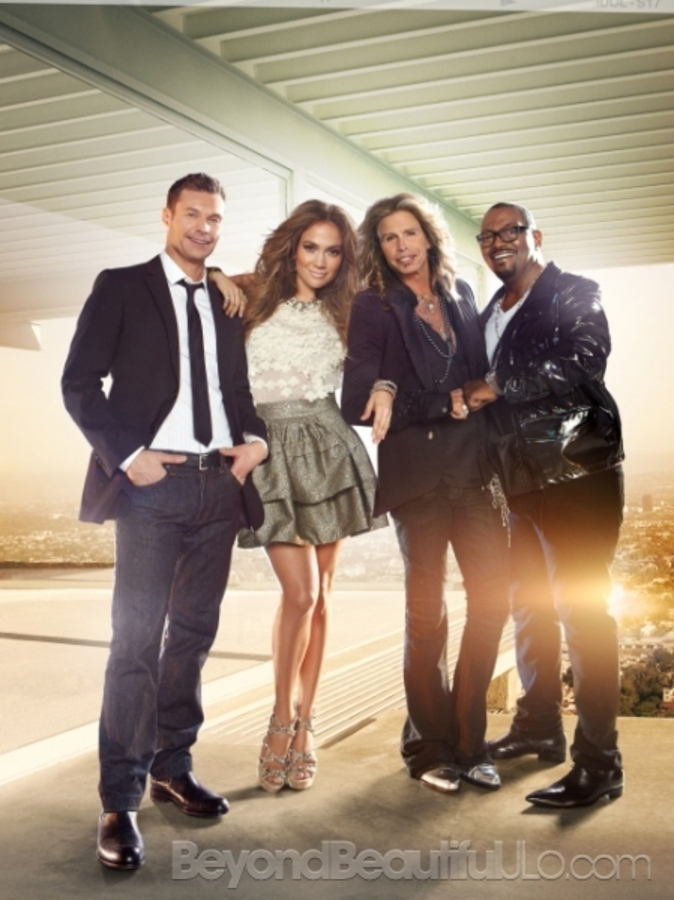 Дженнифер Лопес снялась для промо-фото шоу American Idol